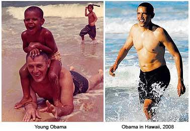 President Obama on Vacation