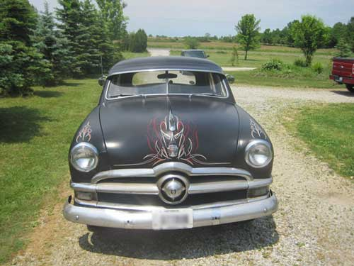 1950 Ford Custom Front View