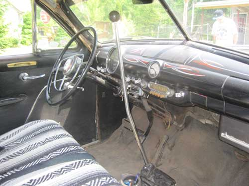 1950 Ford Custom Inside View